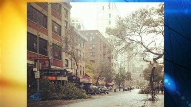 Clean up from Superstorm Sandy is underway up and down the East Coast.