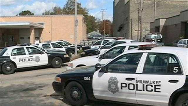 Milwaukee Police cars
