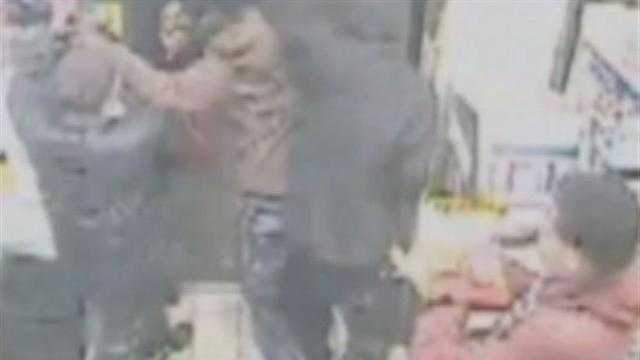 Attack on shopkeeper, 71, caught on video