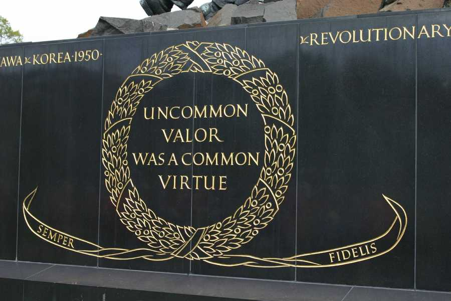 "Uncommon valor was a common virtue"""