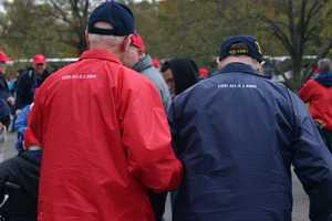 Click here to see photos from the WWII Memorial.Click here to see all of WISN's past coverage of Honor Flights.