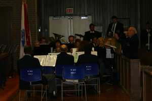 American Legion Band and Riverside University High School students performed.