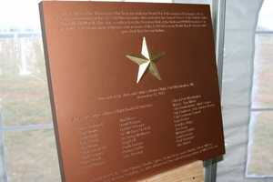 A plaque will also be part of the memorial.  It will be placed so that on 11/11/12 @ 11:11am a shadow will be cast across the star.