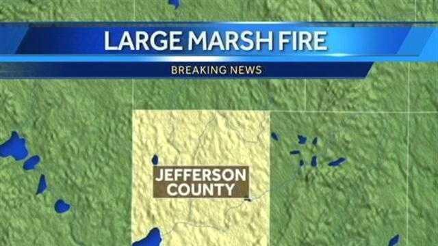 Jefferson County Marsh Fire Map