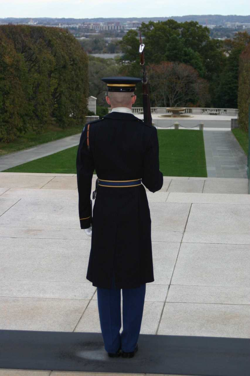 "Other than guarding the Tomb of the Unknowns, ""The Old Guard"" as the Army's Official Honor Guard, annually participates in more than 6,000 ceremonies, an average of 16 per day."
