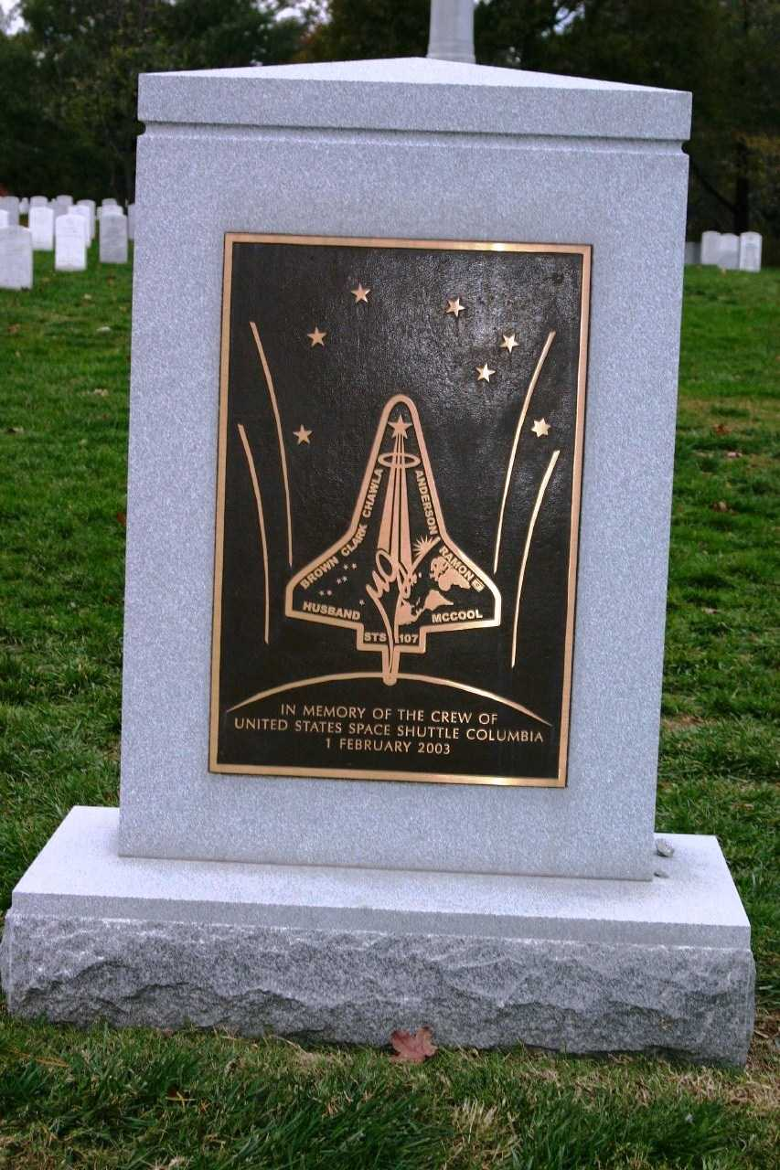 """In memory of the crew of United States Space Shuttle Columbia- 1 February 2003"""