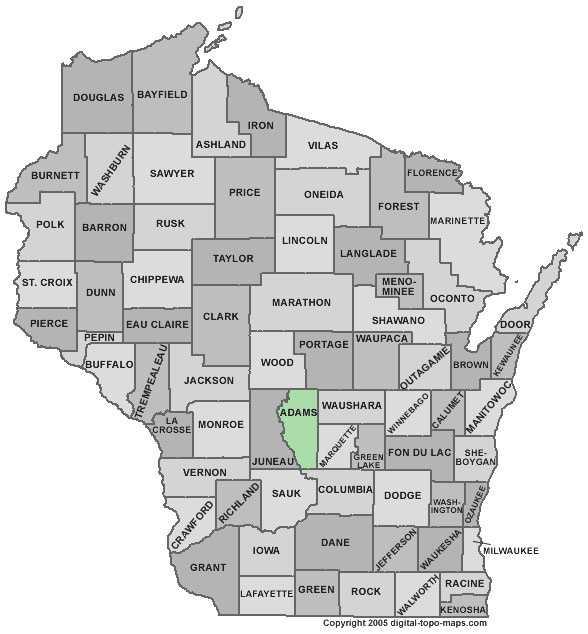 Adams County - 9 percent