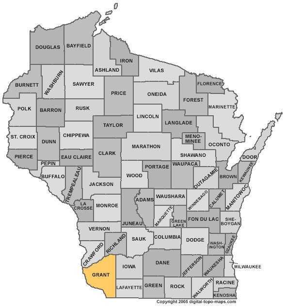 Grant County: 8 percent