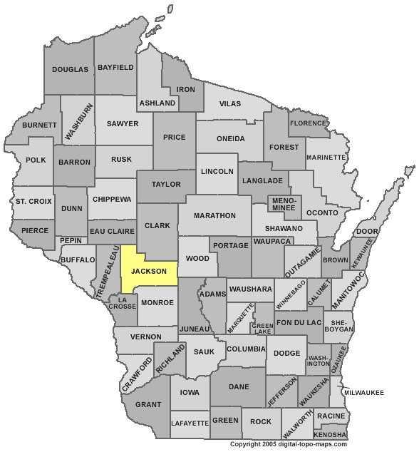 Jackson County: 9 percent