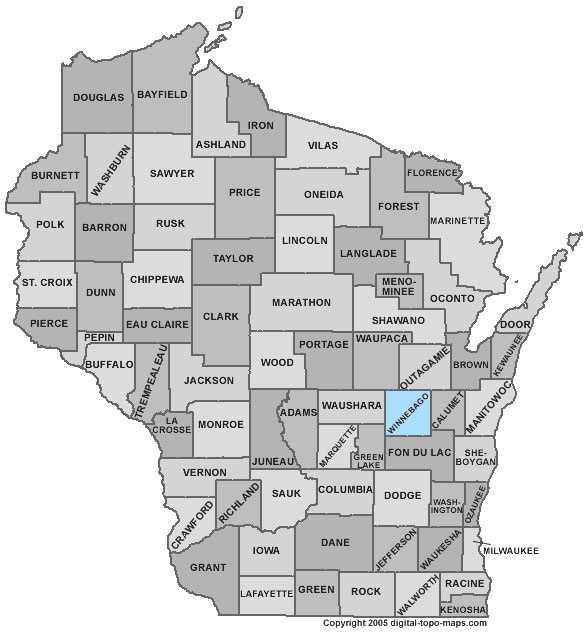 Winnebago County: 7 percent