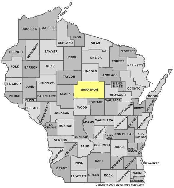 Marathon County: 8 percent