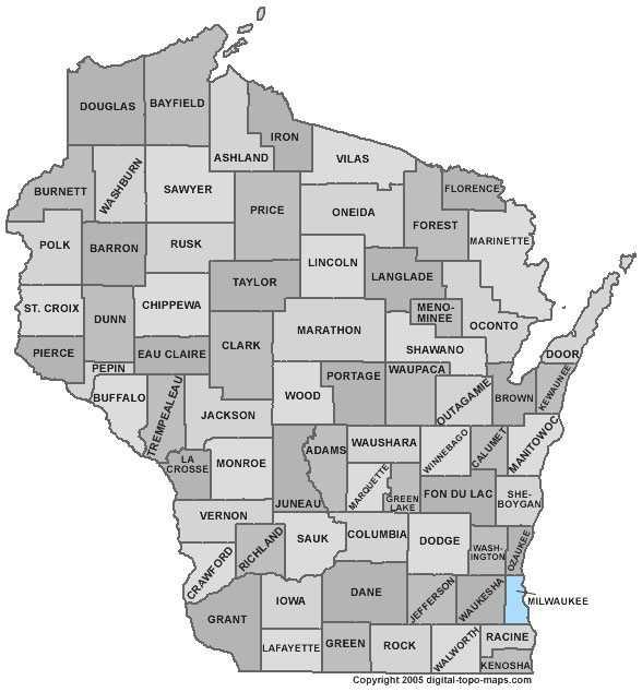 Milwaukee County: 9 percent