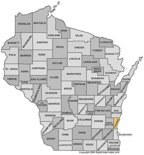 Ozaukee County: 4 percent