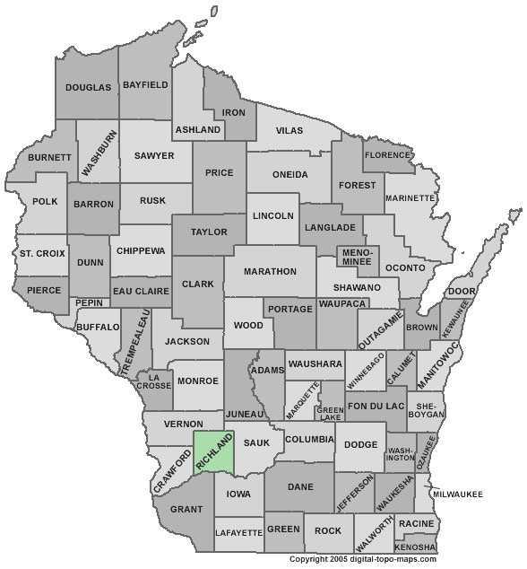 Richland County: 8 percent