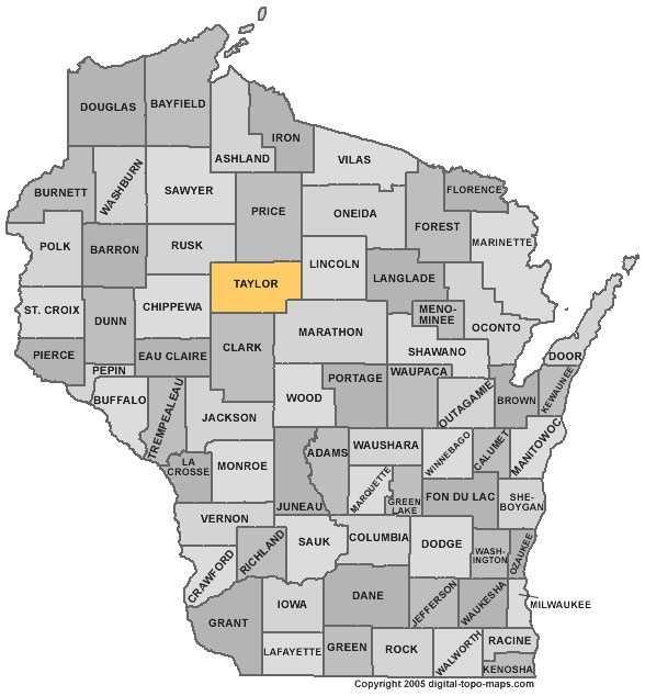 Taylor County: 9 percent
