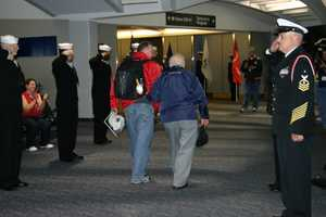 These flights are free for the vetersns and their guardians pay $500 for the privilage to escorte a WWII hero.