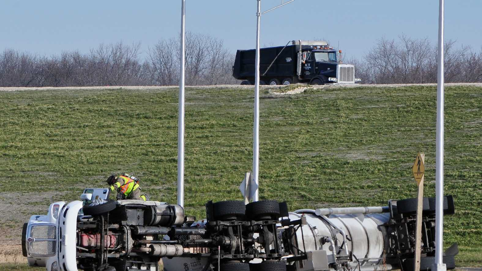 Milton Tanker Spill