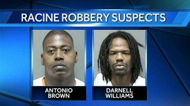 2 men in custody for robbery at TCF Bank in Racine.