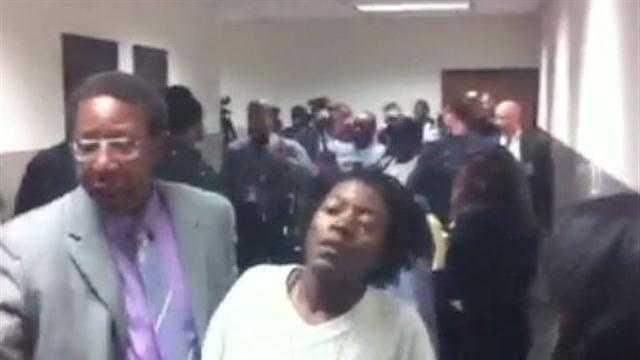 hallway fight