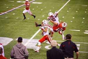 70 - Number of points scored against #14 Nebraska in the Big Ten championship on Dec. 1, 2012.