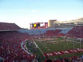 3 - Number of Big Ten Championships won. Also, the number of straight Rose Bowl appearances by Bielema's teams including 2013.