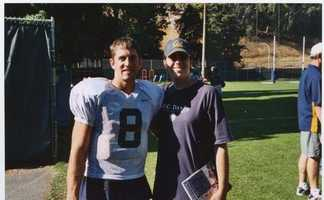The following season, he enrolled at University of California-Berkeley and became the team's starter.