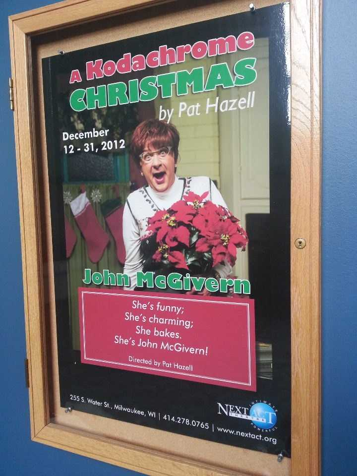 "Next up at Next Act Theater?  ""A Chodachrome Christmas"" staring Milwaukee's own funnyman John McGivern."
