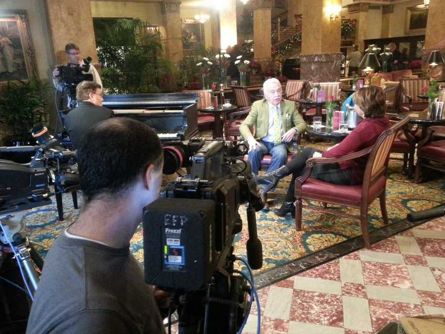 Doc sat down to catch up with Kathy Mykleby inside the Pfister Hotel.