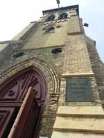 South to Racine to discover St. Luke's Episcopal Church.