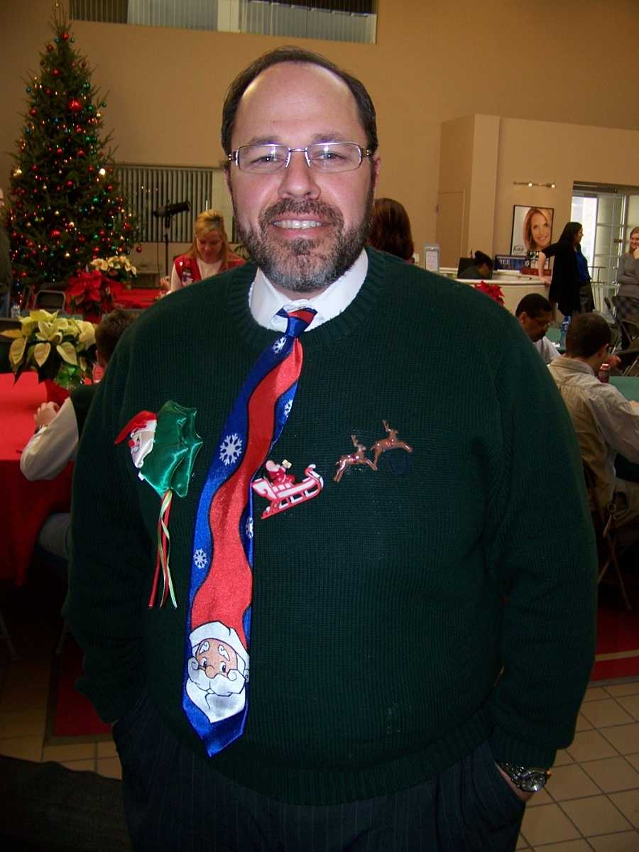 General Sales Manager Anthony Arbucias played the role of Olive (the other reindeer...)