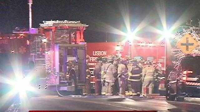 Two young men were killed in a single car crash in Lisbon in Waukesha County