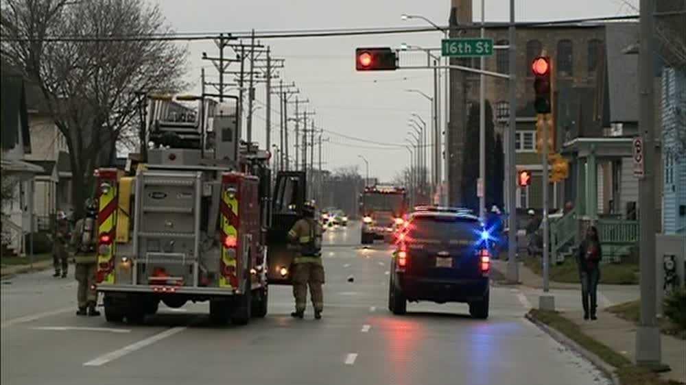 Gas meter struck in Racnie