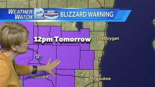 The National Weather Service has issued Winter Storm and Blizzard Warnings for southeastern Wisconsin.