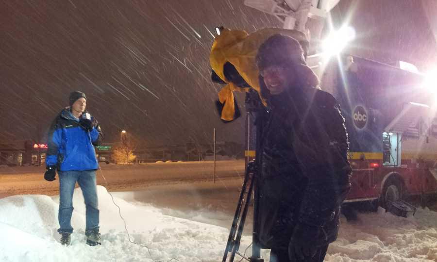 Thursday: WeatherWatch 12 Meteorologist Jeremy Nelson was in Washington County.