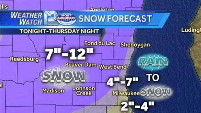 Dec 20 snow forecast