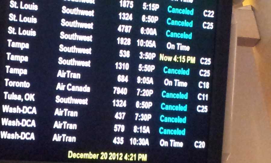 Delays and cancellations are growing at Mitchell International.
