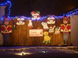 Every year a West Allis neighborhood goes all out with holiday decorations and invites the public to drive through. Donations for Hunger Task Force and MACC Fund are also collected.