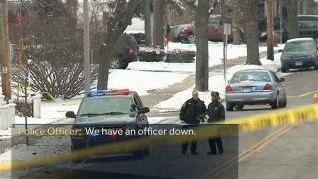 Wauwatosa Police have released some of the early radio communications heard after officers discovered one of their own had been shot and killed Christmas Eve.