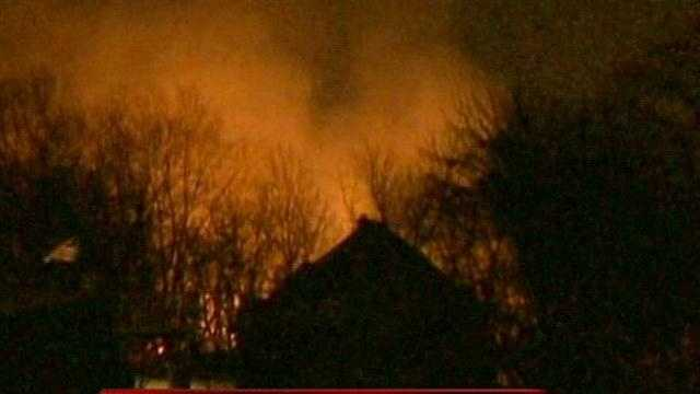A barn near Union Grove is a total loss this morning after a fire consumed the structure. However WISN 12 News has learned that all of the animals were evacuated and survived the blaze.