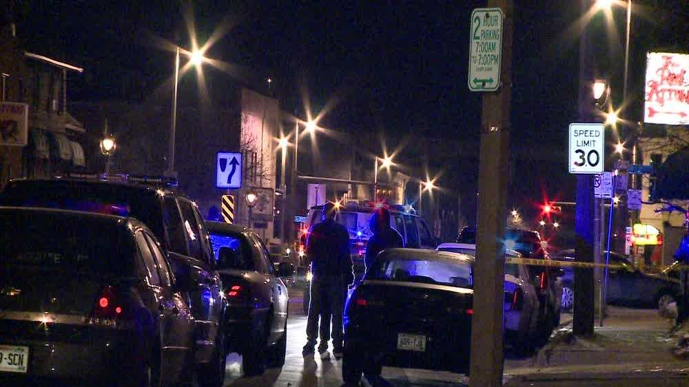 Two people shot early Saturday morning