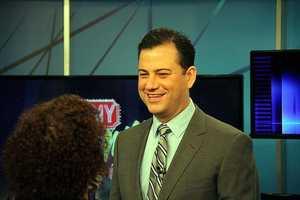Jimmy Kimmel loves fly fishing.