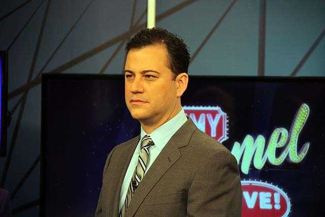 Jimmy Kimmel was an on-air prognosticator for Fox NFL Sunday for four seasons.
