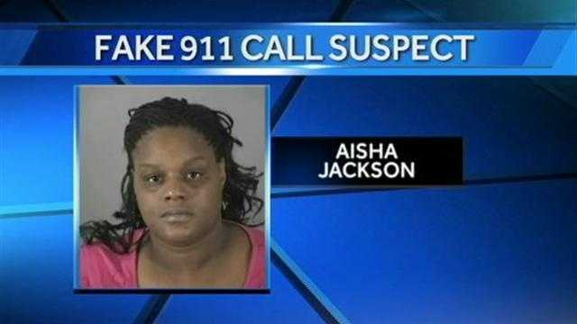 According to Waukesha Police, Aisha Jackson made 6 similar false 911 calls after being pulled over for various traffic stops by police.