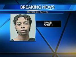 Kvon Smith, of Milwaukee is in custody.