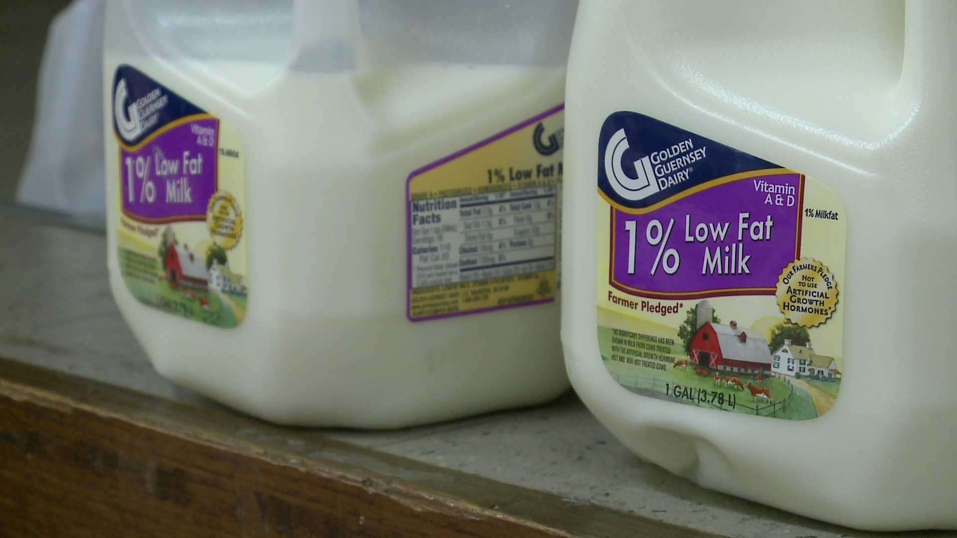 Milk delivered to Milwaukee charity