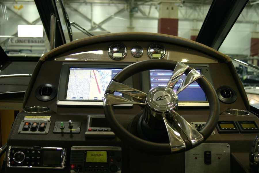 Plenty of electronics and navigation...