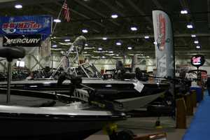 Over 300 boats from 75 manufacturers are on display.