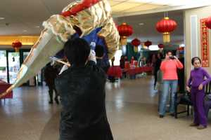 The dragon dance is one of the highlights of the event.