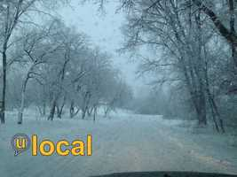 Our ulocal members sent in some great shots on Thursday. Here are the top 10 official snowfall totals from the National Weather Service, along with some of our great pics:
