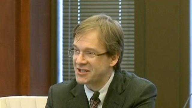 Milwaukee County Executive Chris Abele gives his State of the County address.